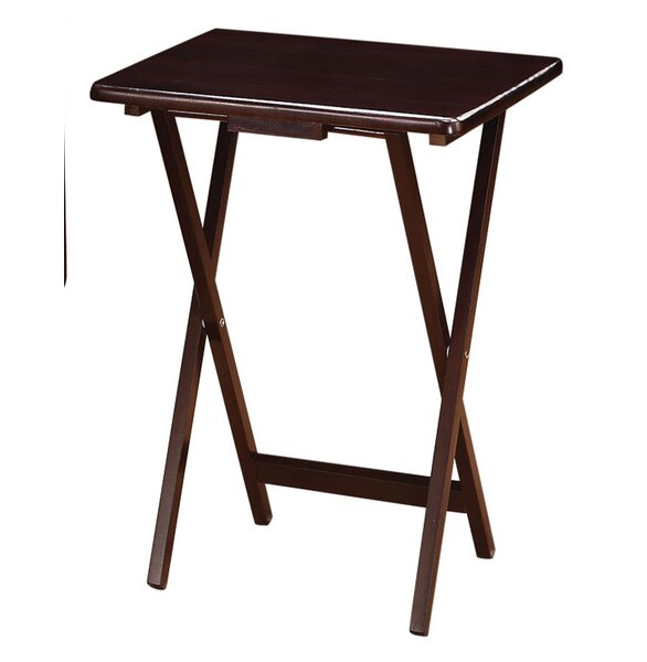 5 Piece Tray Table Set by Wildon Home®