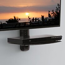 Single Component AV Wall Shelf by OmniMount