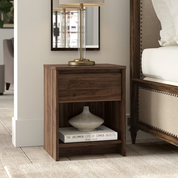 Kathi 1 Drawer Nightstand by Greyleigh