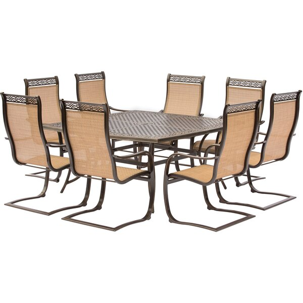 Buariki 9 Piece Dining Set by Fleur De Lis Living