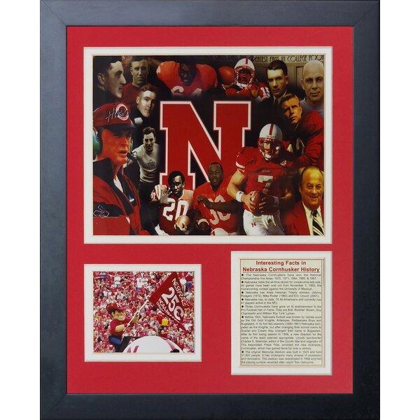 Nebraska Cornhuskers Greats Framed Memorabilia by Legends Never Die