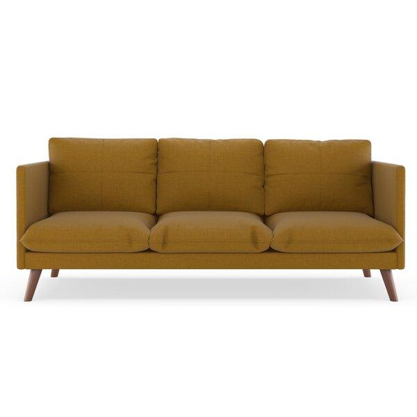 Rodgers Linen Weave Sofa By Brayden Studio