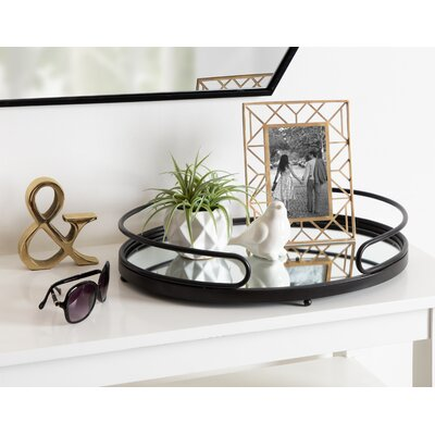 Extra Large Over 17 Quot W Metal Decorative Trays You Ll