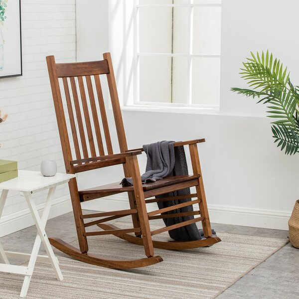 Strohi Rocking Chair By Highland Dunes