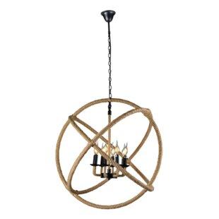 Price comparison Gillian 8-Light Globe Chandelier By Breakwater Bay
