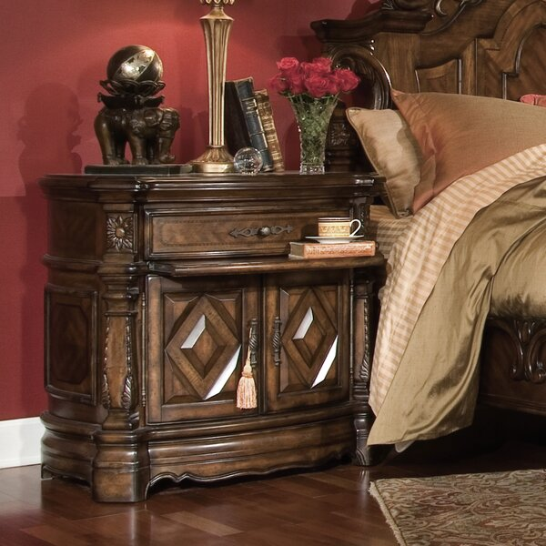 Windsor Court 2 Drawer Bachelor's Chest by Michael Amini Michael Amini