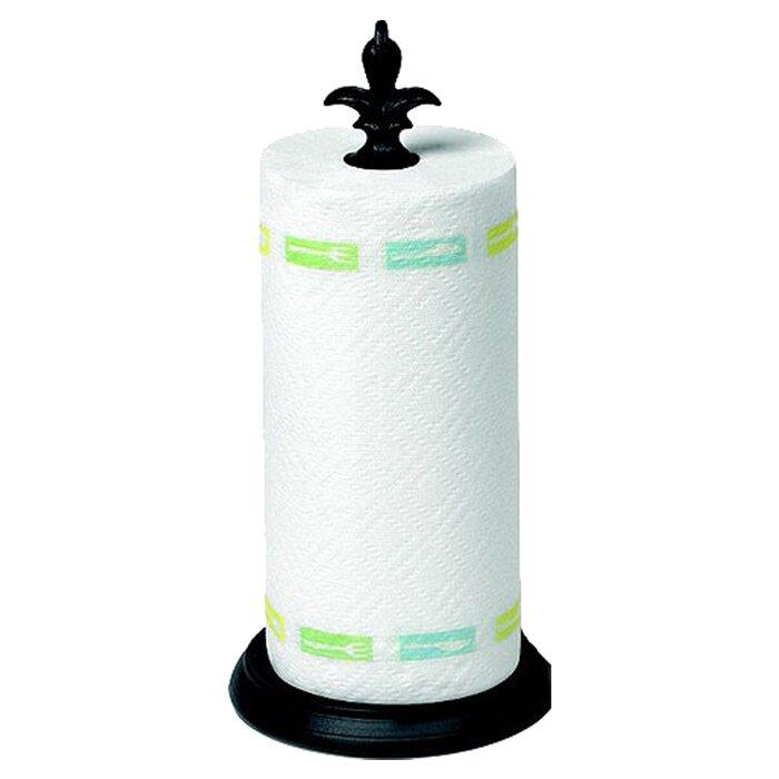 spectrum diversified fleur de lis paper towel holder reviews wayfair