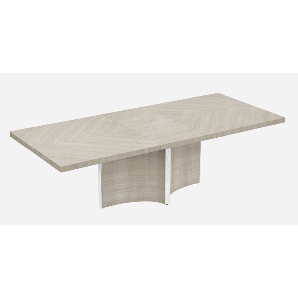 Alvin Extendable Dining Table by Rosdorf Park