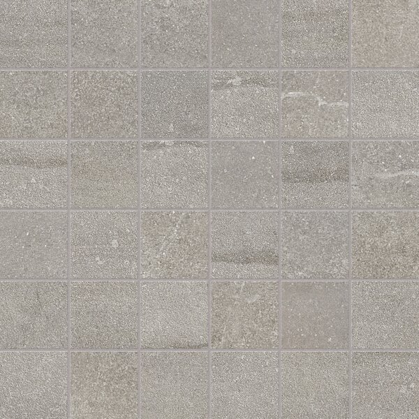 Core 12 x 12 Porcelain Mosaic Tile in Gray by Parvatile
