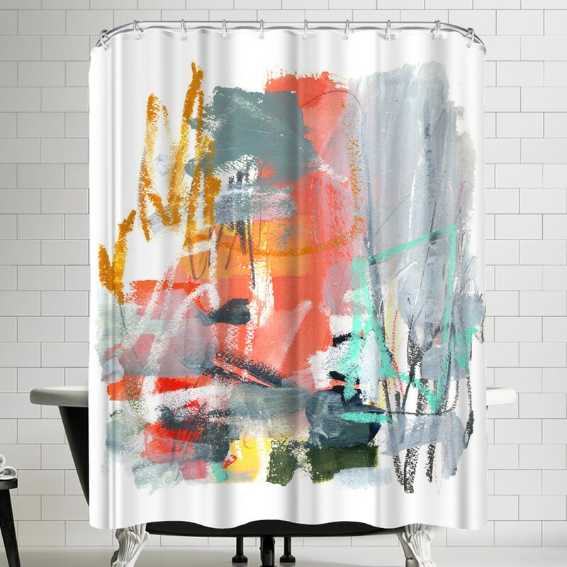 East Urban Home Olimpia Piccoli Sushi Baby Shower Curtain Reviews