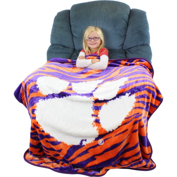 Clemson Tigers Throw Blanket by College Covers