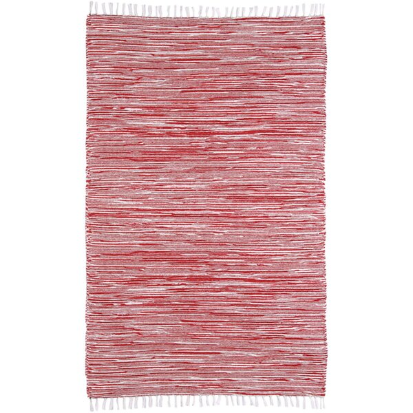 Bruges Red Area Rug by Bungalow Rose| @ $86.99