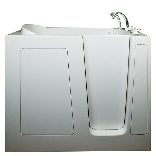Deep High Air and Hydrotherapy Massage Whirlpool Walk-In Tub by Ella Walk In Baths