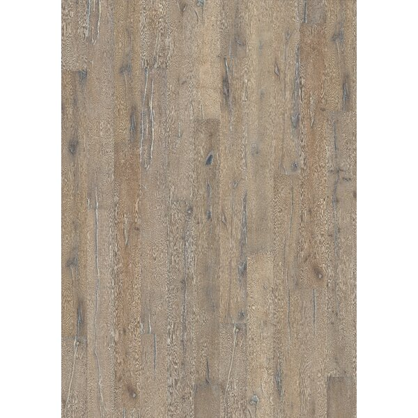 Woodloc Sweden 7-1/2 Engineered Oak Hardwood Flooring in Indossati by Kahrs