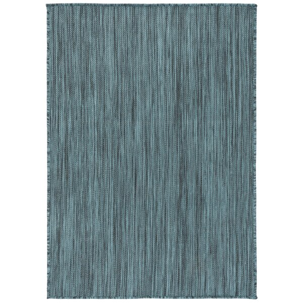 Ephraim Turquoise Indoor/Outdoor Area Rug by Highland Dunes
