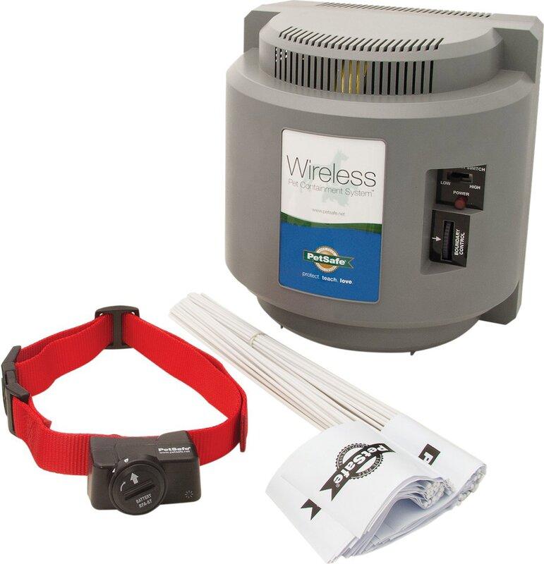 Pet Safe Indoor Radio Pet Electric Fence & Reviews   Wayfair