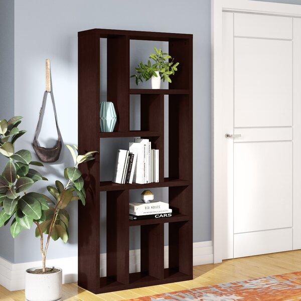 Labrecque Multi Tier Geometric Bookcase by Brayden Studio
