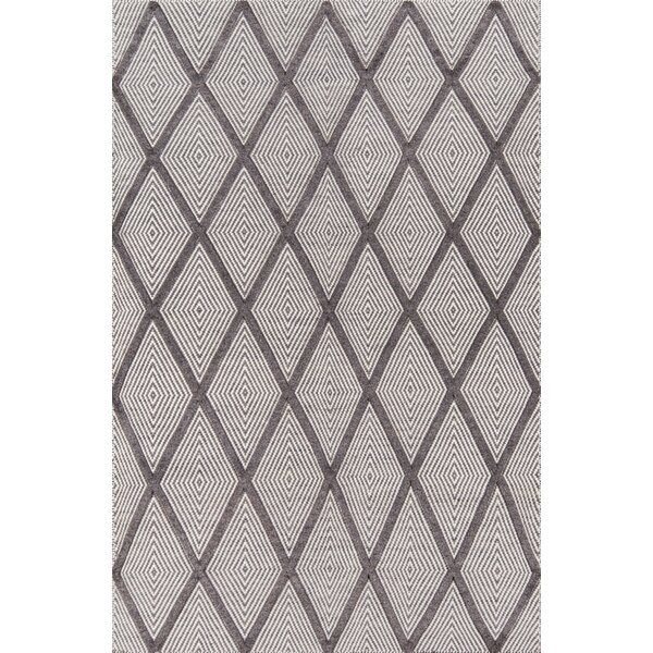 Langdon Spring Hand-Woven Wool Charcoal Area Rug by Erin Gates by Momeni