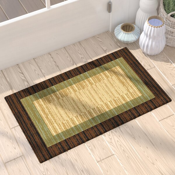 Cooke Floral Doormat by World Menagerie