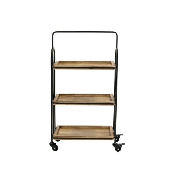 Bengal Bar Cart by Trent Austin Design