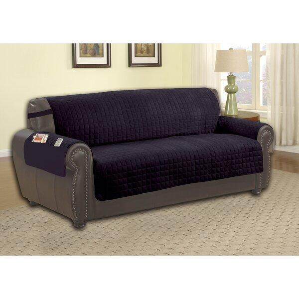 Microfiber Sofa Slipcover by Red Barrel Studio