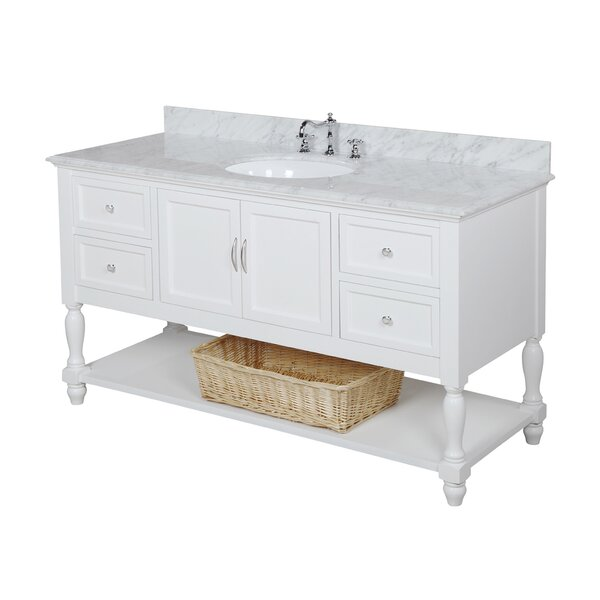 Beverly 60 Single Bathroom Vanity Set by Kitchen Bath Collection