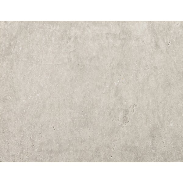 Travertine 16 x 24 Field Tile in Ancient Tumbled Silver by Emser Tile