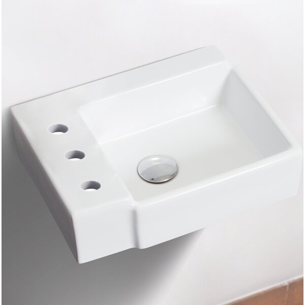 Ceramic 16.25 Bathroom Sink by Royal Purple Bath Kitchen