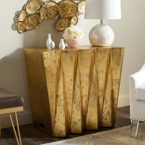 Nev Hex Console Table by Willa Arlo Interiors