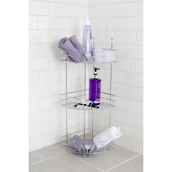 Cecilia Corner Shower Caddy by Rebrilliant