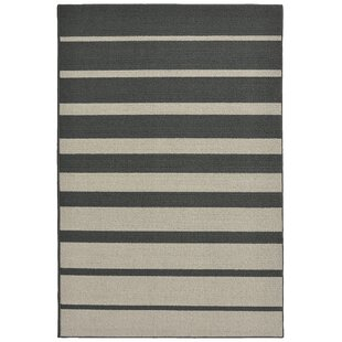 Exceptional Stair Steps Cinder/Silver Area Rug