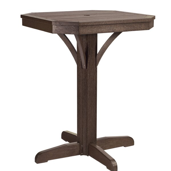 Ezell Plastic/Resin Bar Table by Bayou Breeze