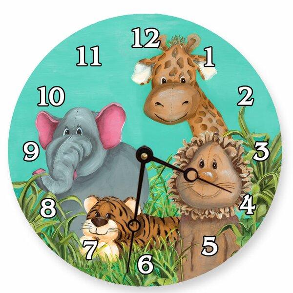 Animals 18 Zoo Wall Clock by Lexington Studios
