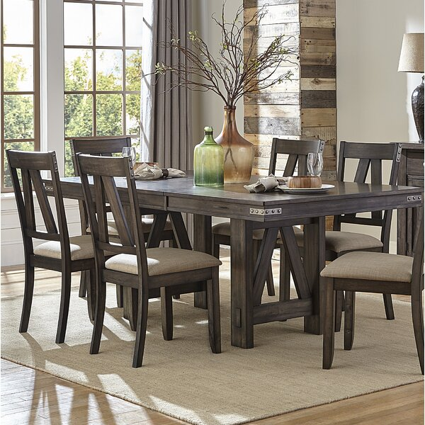 Fresh Elyssa Extendable Dining Table By Gracie Oaks 2019 Coupon