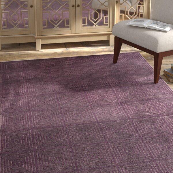 Saint-Michel Purple Wilton Area Rug by Bungalow Rose