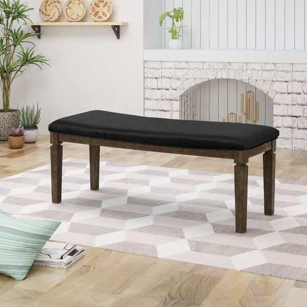 Merriweather Wood Bench by Gracie Oaks