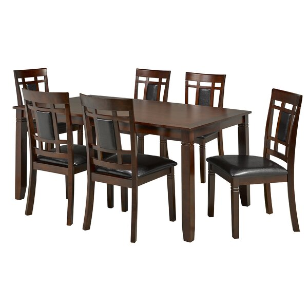 Kadalynn 7 Piece Dining Set by Red Barrel Studio Red Barrel Studio
