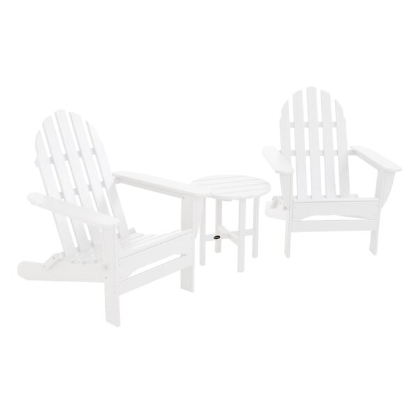 Classic 3 Piece Conversation Set by POLYWOOD®
