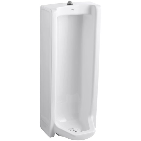 Branham Washout Floor-Mount 1 GPF Urinal with Top Spud by Kohler