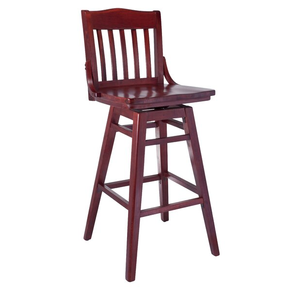 Maleah 30 Swivel Bar Stool by Longshore Tides