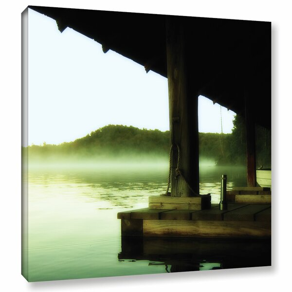Zen by Revolver Ocelot Framed Photographic Print on Wrapped Canvas by ArtWall