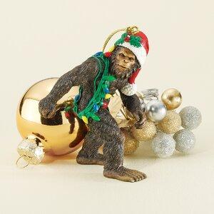 Bigfoot the Holiday Yeti Ornament