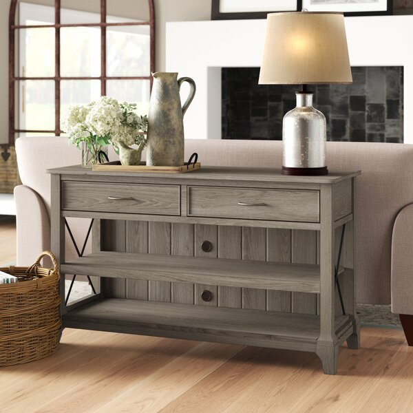 Busti Volane Console Table By Three Posts