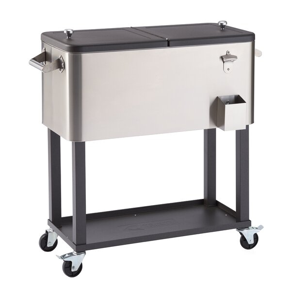80 Qt Cooler With Casters By Trinity.