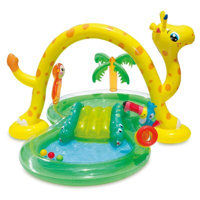 Summer Waves 101In X 75In Inflatable Jungle Play Center Kiddie Pool (2 Pack) Polygroup Trading Ltd -  2 x KA0047000167