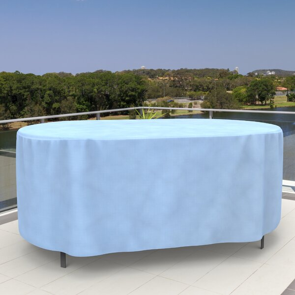 All-Seasons Oval Patio Table Cover by Budge Industries