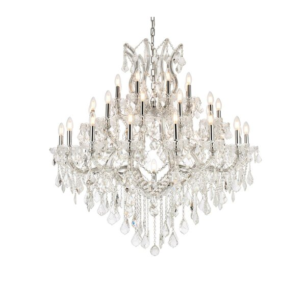 Regina 37 - Light Candle Style Tiered Chandelier By House Of Hampton