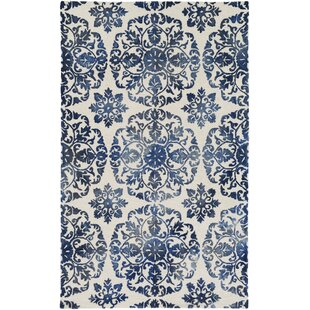 Buying Dilworth Hand Tufted Blue/Off-White Area Rug By Bungalow Rose