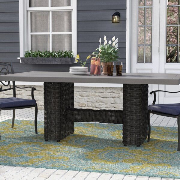 Fairfield Dining Table By Sol 72 Outdoor by Sol 72 Outdoor Design