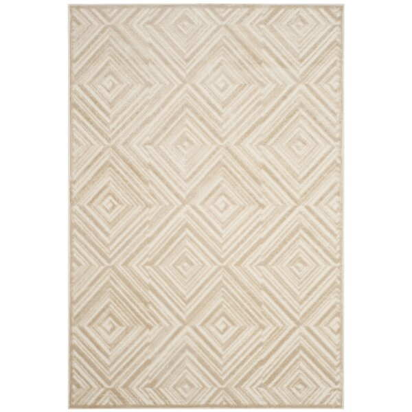 Pittenger Cream Area Rug by Wrought Studio